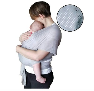 Quick-Dry Cotton-Mesh Baby Carrier