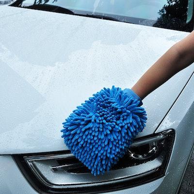 AVA Prime Ultimate Car Wash Mitt (2 Pack)