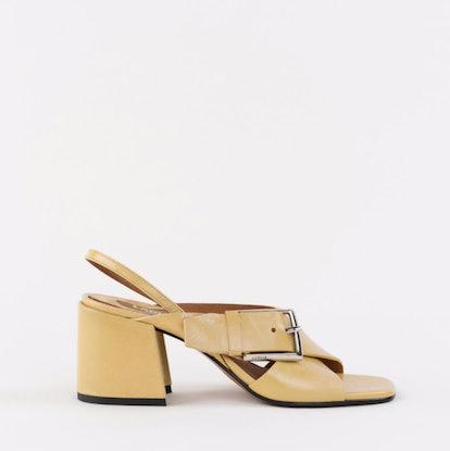 Chan Honey Patent Sandals