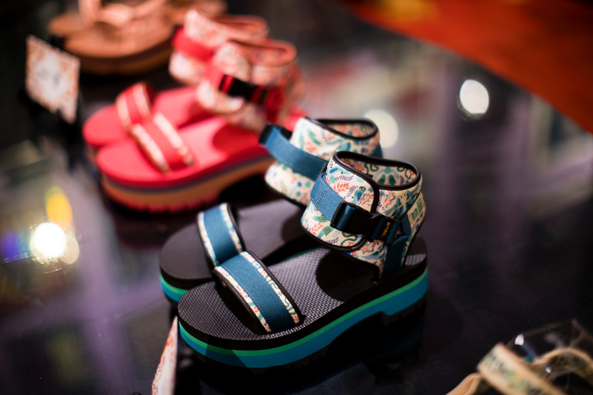 Where To Buy Teva's Anna Sui Shoe Collab Because It Brings High Fashion To Velcro Sandals