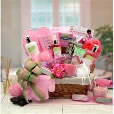 Sweet Bloom Spa Gift Basket