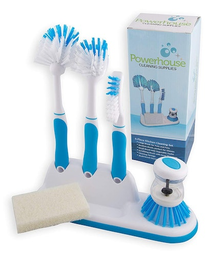 Powerhouse Cleaning Supplies Kitchen Cleaning 6 Piece Set
