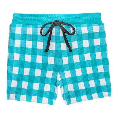 Boy Shorts, Mint Gingham