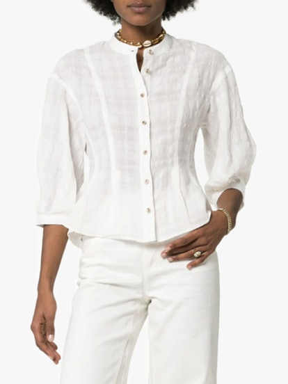 Meadow Button-Down Blouse