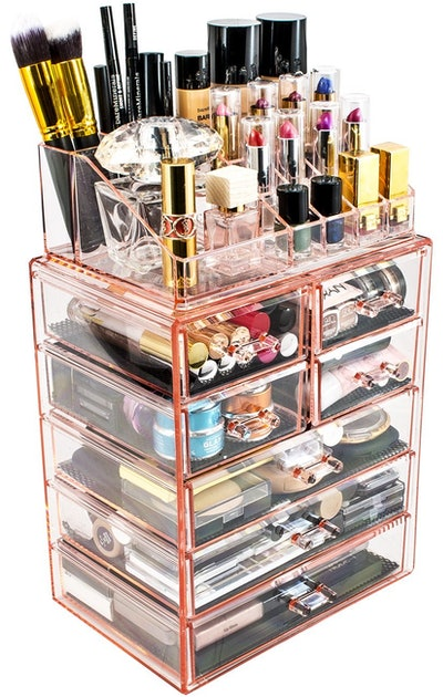 Sorbus Acrylic Cosmetic Makeup Case