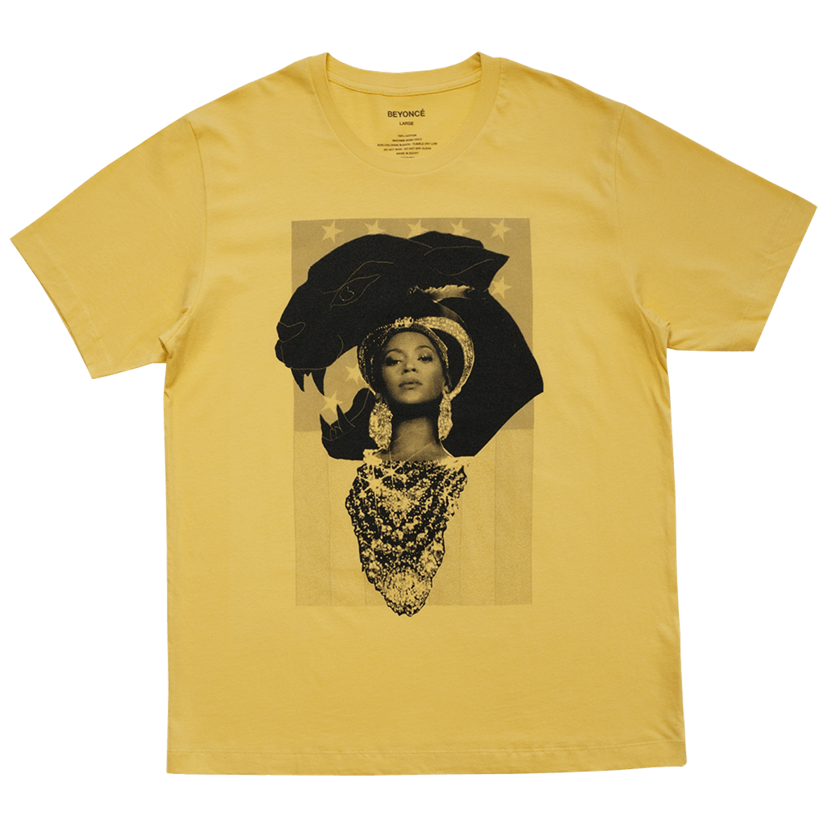 HOMECOMING COLLAGE GOLD TEE