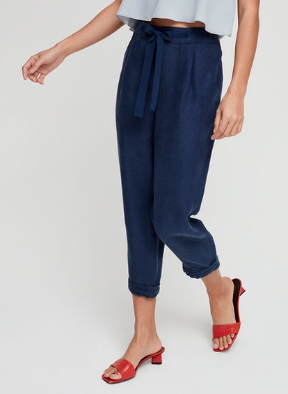 Wilfred Allant Pant Cropped Linen Pant