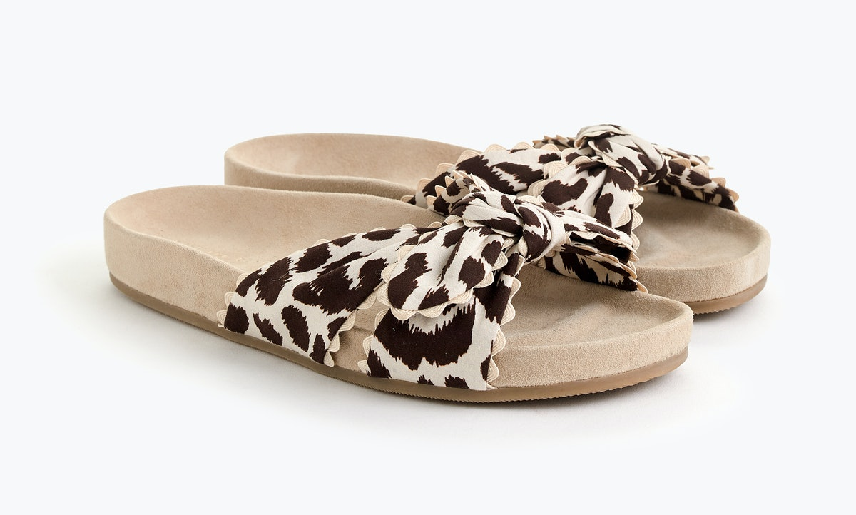 The J.Crew x Loeffler Randall Collab Put A Stylish Spin On The Casual Pool Shoe