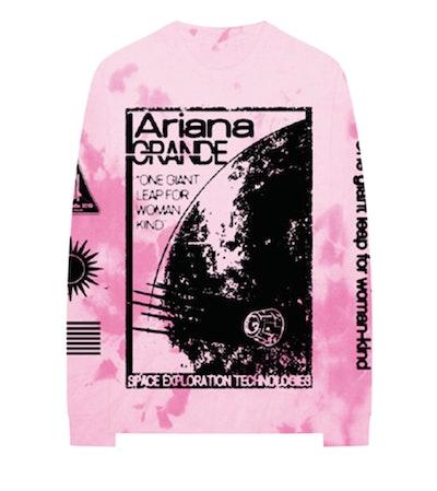 Ariana Grande x NASA Vintage Tie Dye Crewneck