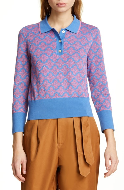 Floral Spade Sweater