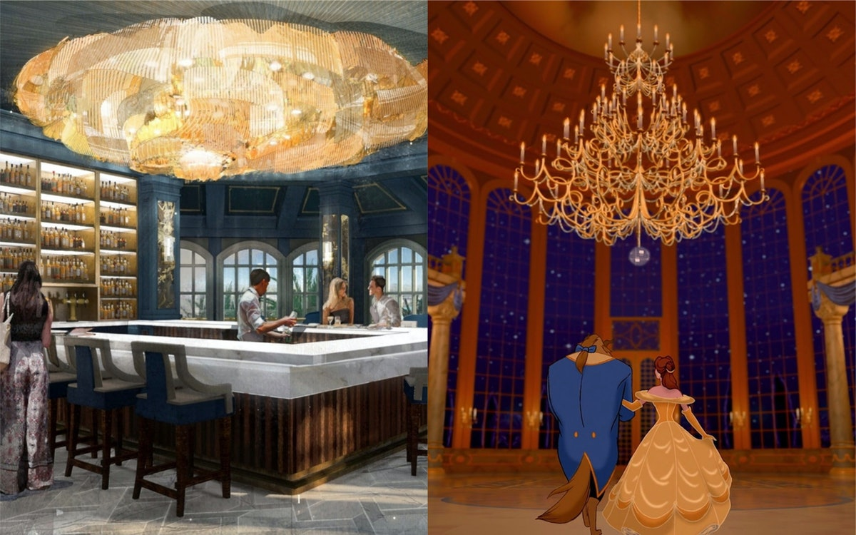A New 'Beauty And The Beast' Bar Is Coming To Disney World This Fall