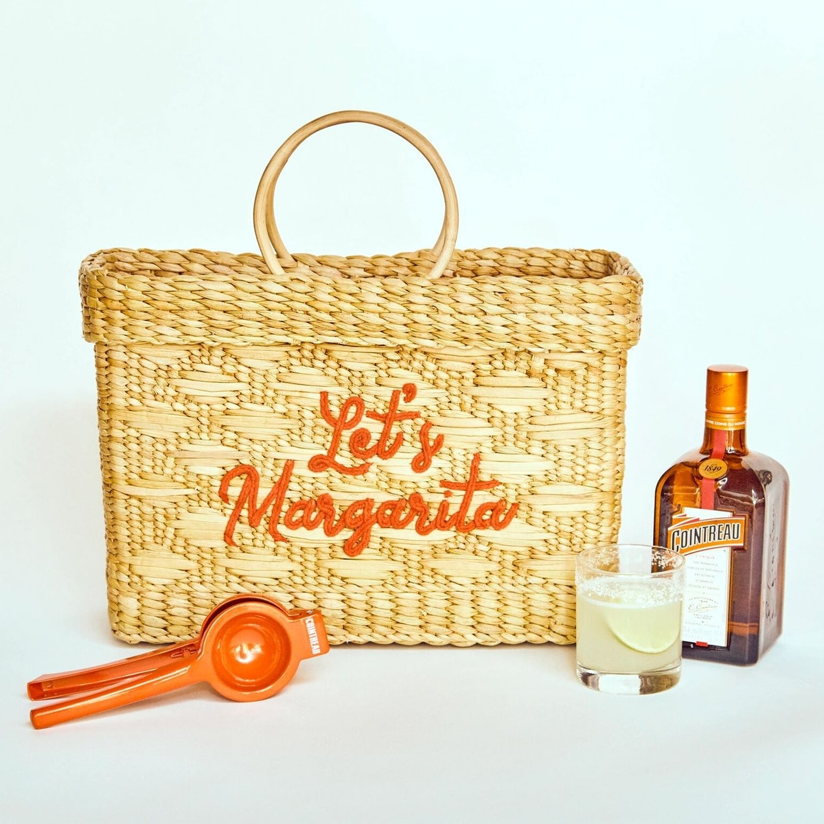 """Cointreau x Poolside Exclusive """"Let's Margarita"""" Tote"""