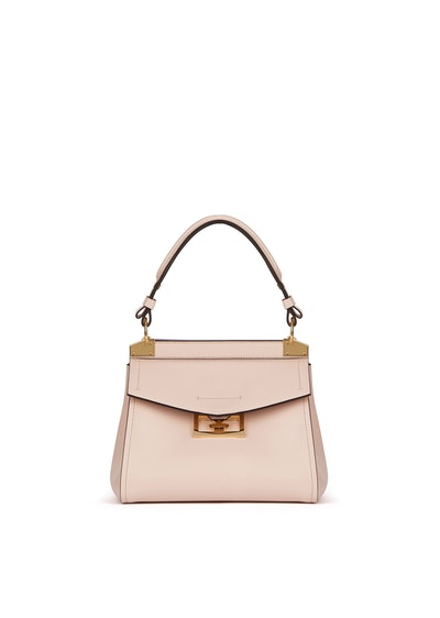 Small Mystic Bag in Pale Pink Soft Leather