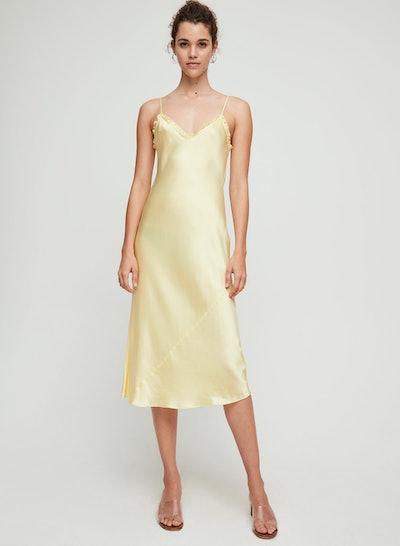 Wilfred Wera Dress Ruffled, Slip Midi Dress