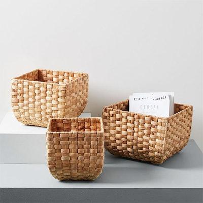 Round Weave Baskets