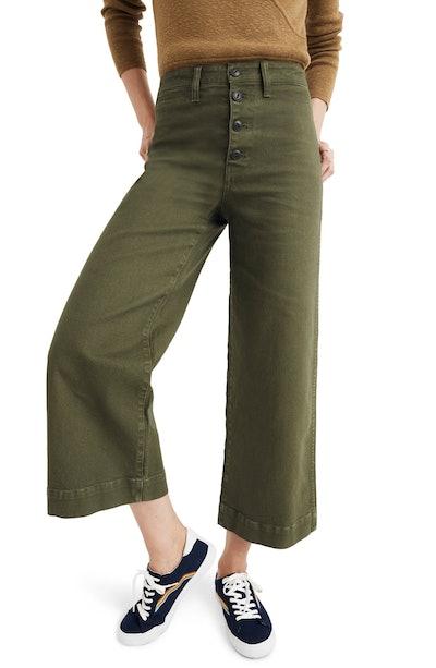 Emmett Crop Wide Leg Pants