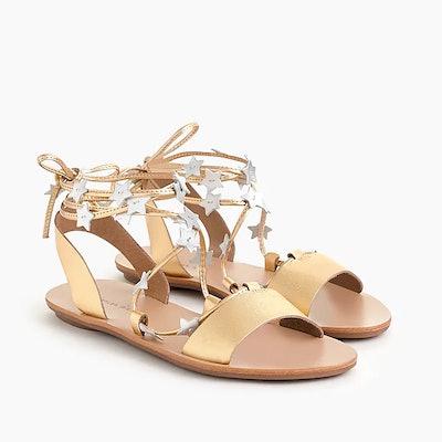 Loeffler Randall® Starla Ankle-Wrap Sandals