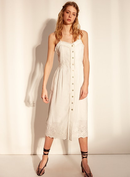 Wilfred Meera Dress Long Sweetheart Neck Dress