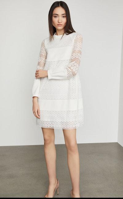 Circle Lace Shift Dress