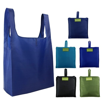 BeeGreen Reusable Grocery Bags Set (Set of 5)