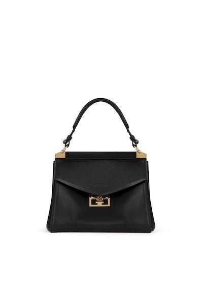Medium Mystic Bag in Soft Black Leather