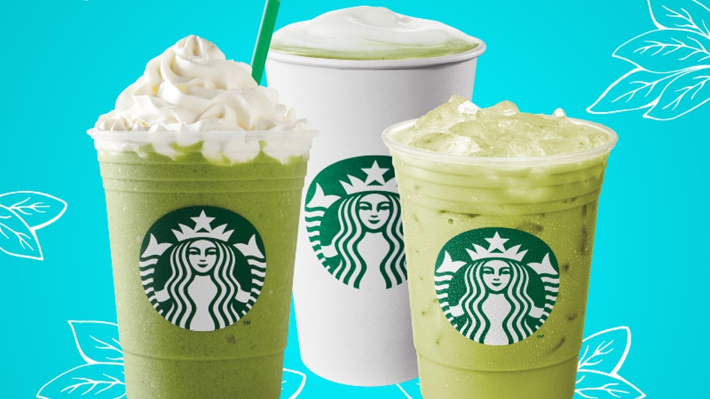 The Strongest Starbucks Drinks With Matcha Green Tea Are