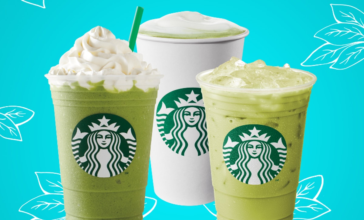 These Starbucks Match drinks are packed with refreshing taste and caffeine.