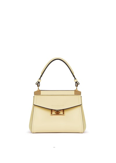 Smal Mystic Bag in Pale Yellow Soft Leather