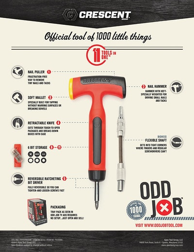 Crescent Odd Job Multi-tool