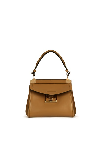Small Mystic Bag in Desert Brown Soft Leather