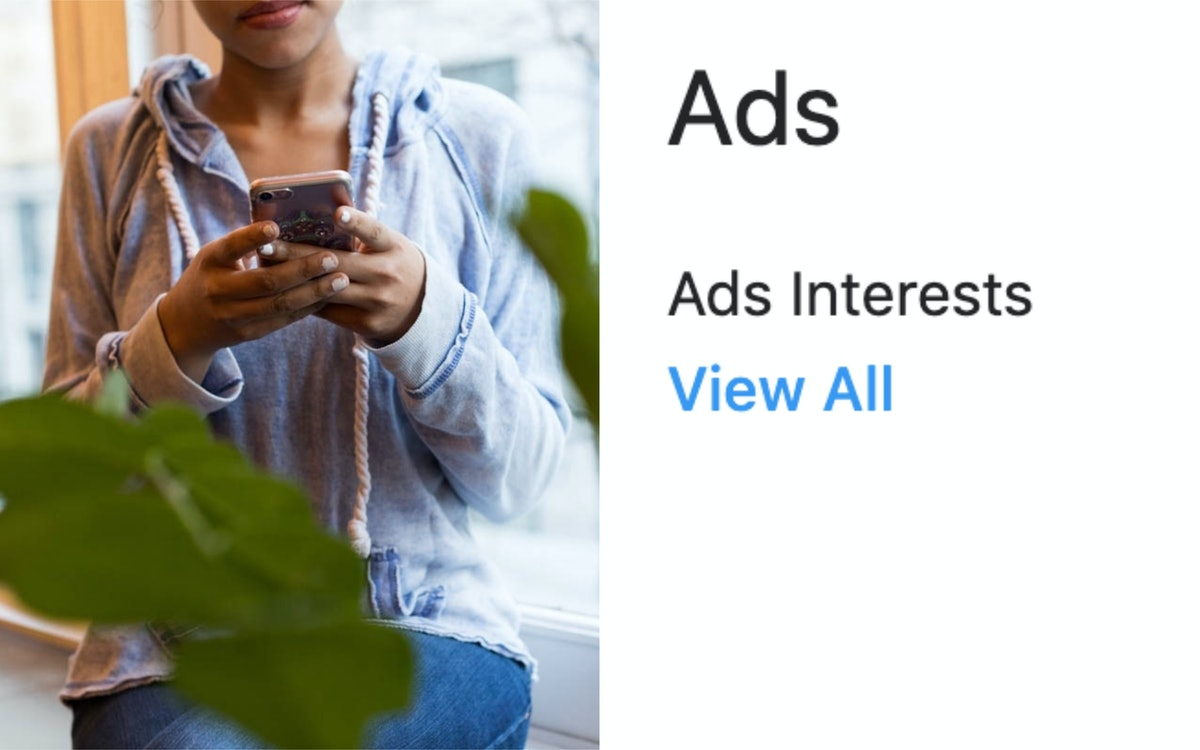 "How To Change Your Ads On Instagram & Access The ""Interests"" Section"