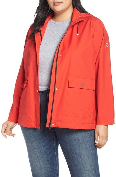 Microbreathable Hooded Raincoat
