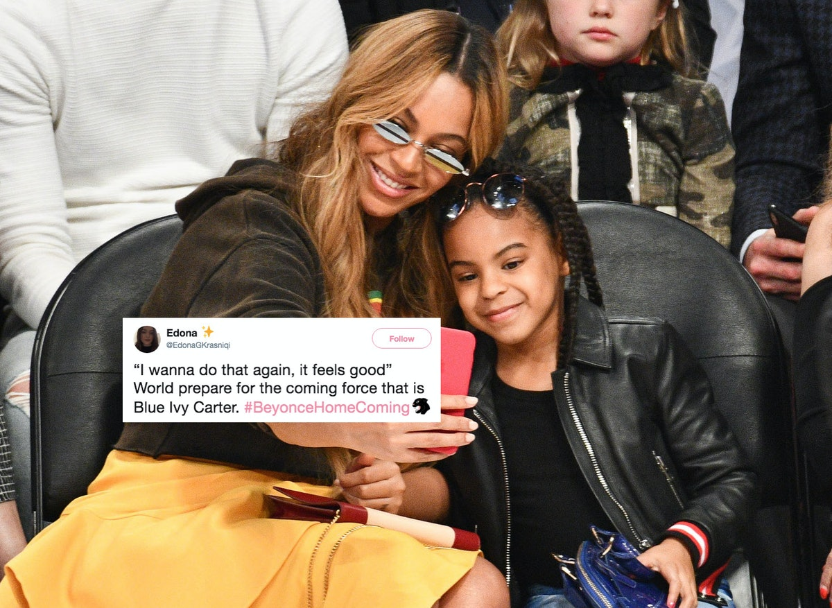 These Tweets About Blue Ivy In 'Homecoming' Will Convince You She's The Next Beyonce