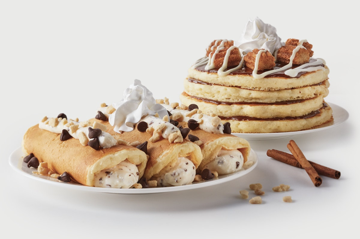 IHOP's New International Pancakes Feature Churro & Cannoli Flavors For A Sweet Breakfast