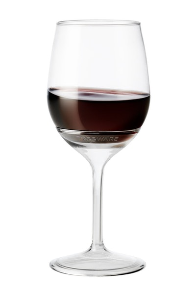 TOSSWARE Recyclable Stemmed Wine Glasses