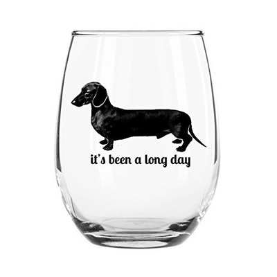 It's Been a Long Day Stemless Wine Glass