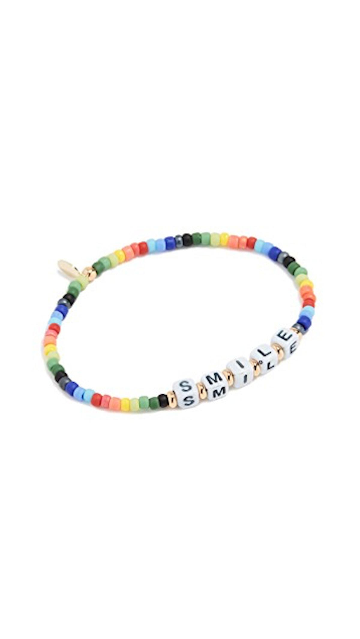 Shashi Smile Bracelet Rainbow