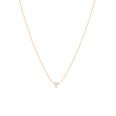 Mejuri Lotus Necklace
