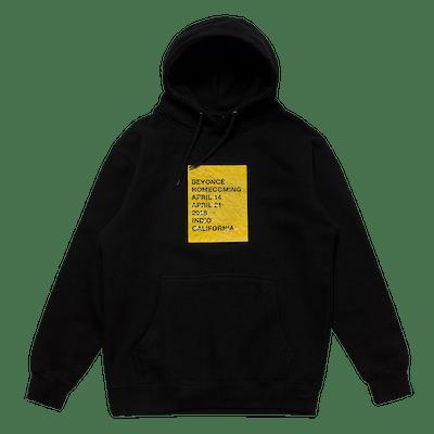 Wheatpaste Pullover Black Hoodie