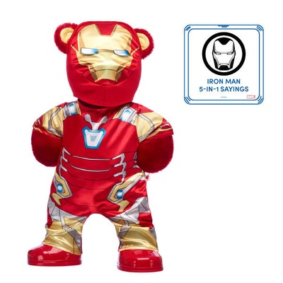 Iron Man Bear with Costume and Sound