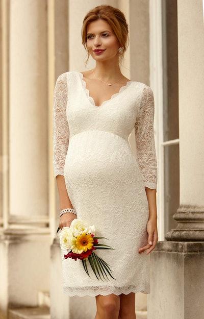 Chloe Lace Maternity Dress