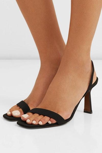 NEOUS Tulip Faille Slingback Sandals