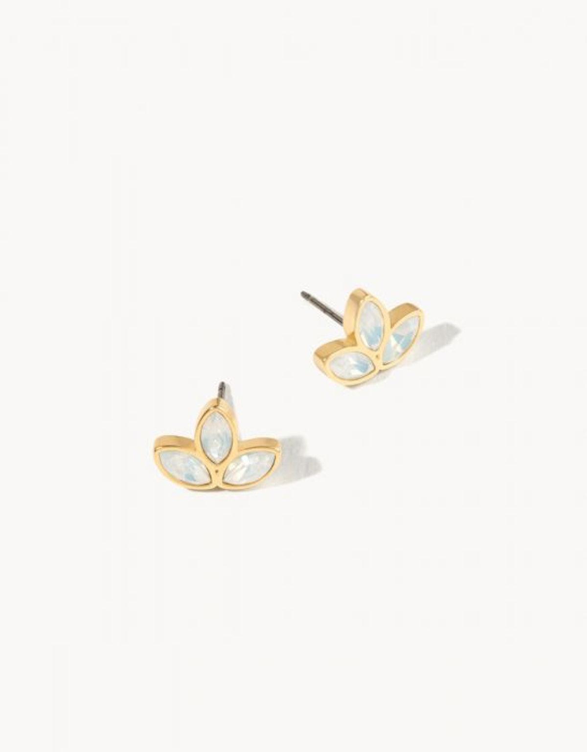 Spartina 449 Delicate Leaf Stud Earrings