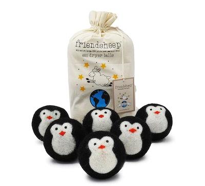 Friendsheep Penguin Dryer Balls (6 Pack)