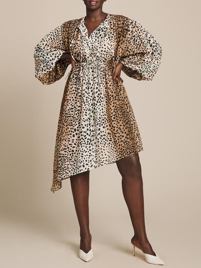 Cheetah Poplin Dress