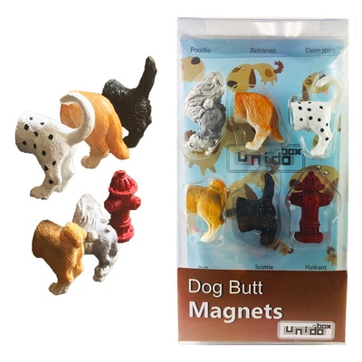 Dog Butt Magnets (Set Of 6)