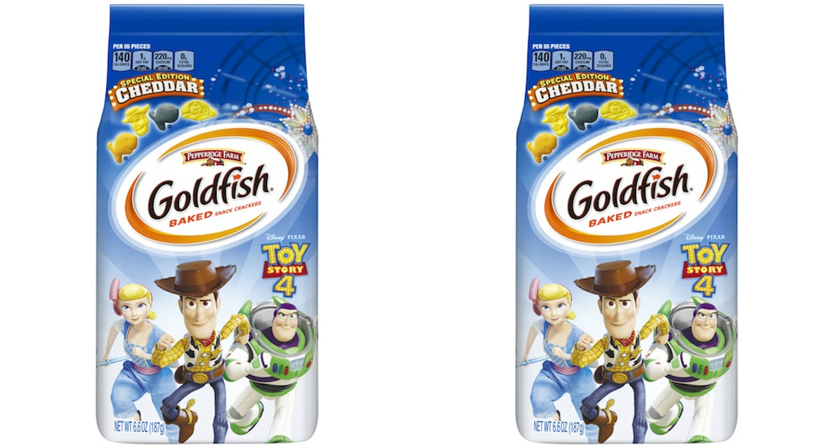 Pepperidge Farm's New 'Toy Story' Goldfish Crackers Are Shaped Like Your Fave Characters
