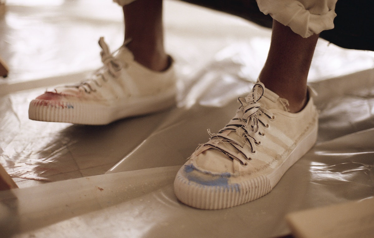The Donald Glover x Adidas Collab Is All About The Stories Of Lived-In Shoes