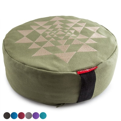 Peace Yoga Zafu Meditation Cushion