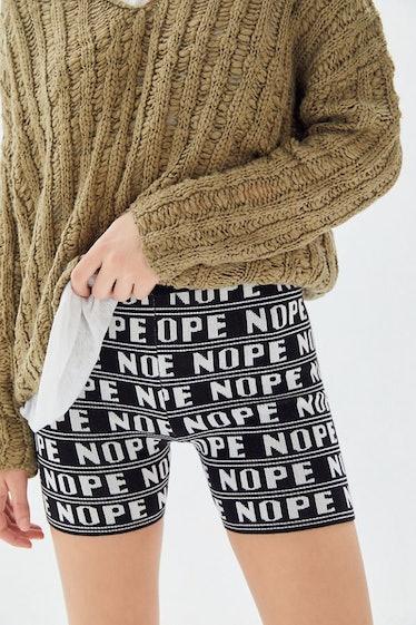UO Nope Sweater Bike Short